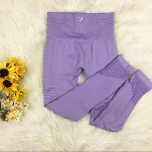 Gymshark High Waist XS Purple Leggings